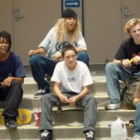 How does Mid90's challenge Hollywood's treatment of skateboarders?